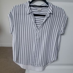 a new day small striped top